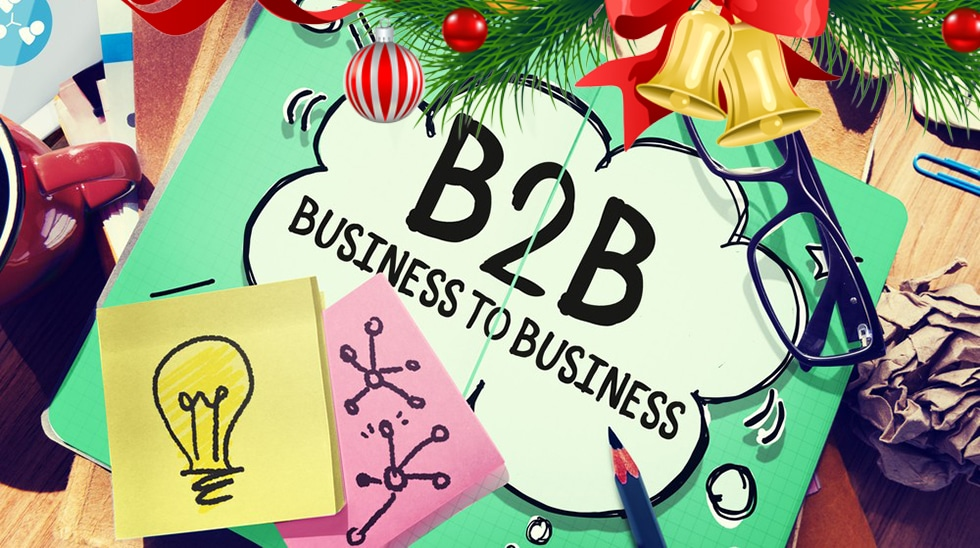 b2b tips at Christmas