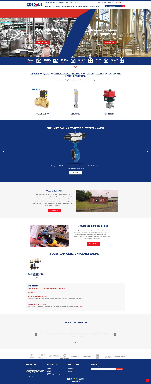 Zoedale case study | Shynee Web Design