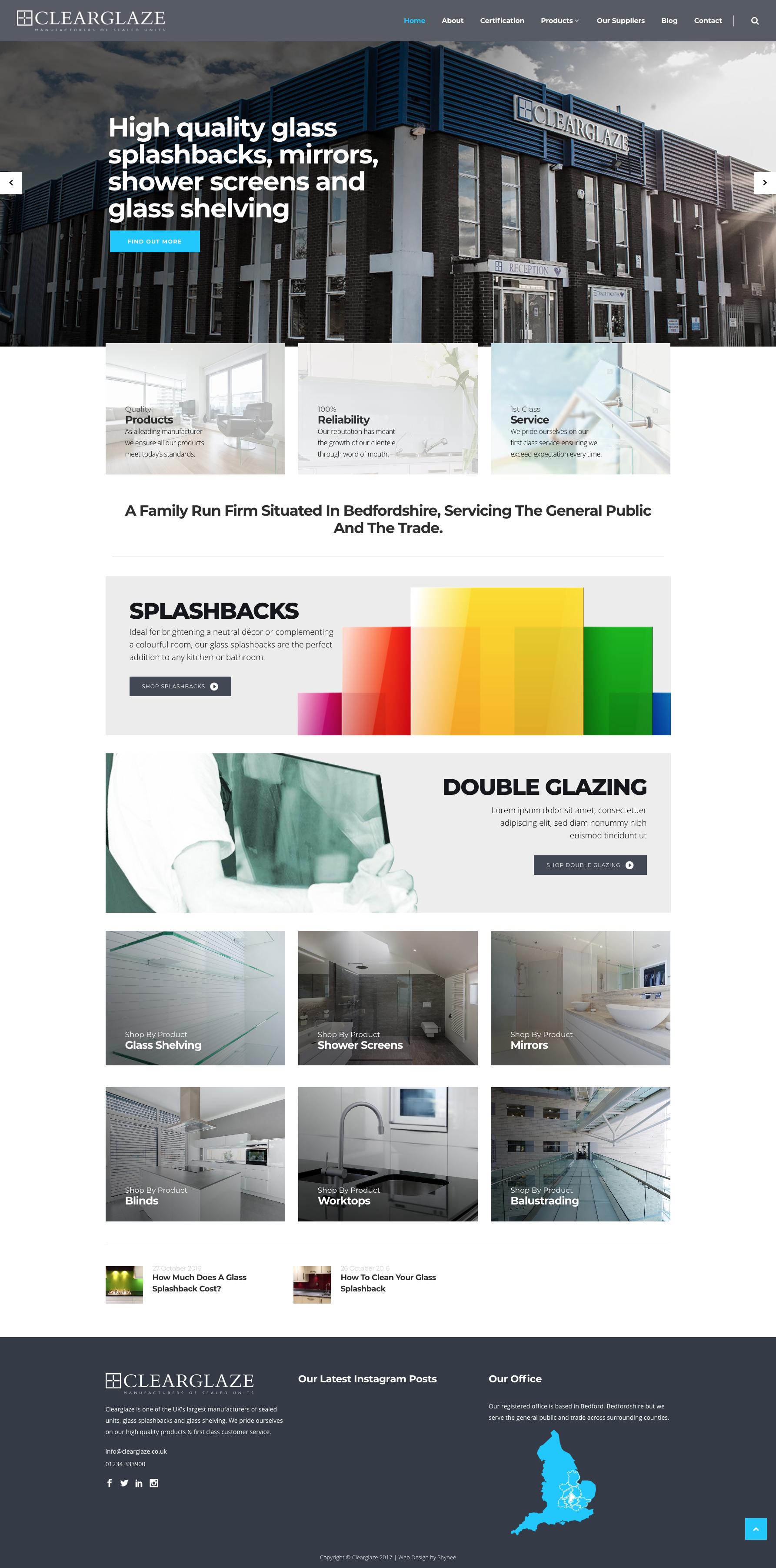 clearglaze webpage